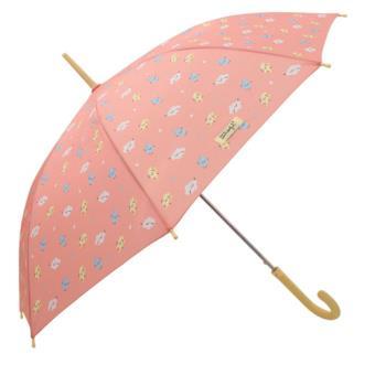 Mr Wonderful Paraguas mediano coral - Estampado Rayo