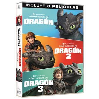 Pack Cómo entrenar a tu dragón 1-3 - DVD