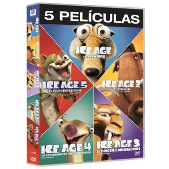 Pack Ice Age 1-5 - DVD - Musica y Cine - Varios directores ...