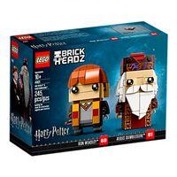 LEGO Brickheadz Ron Weasley y Albus Dumbledore