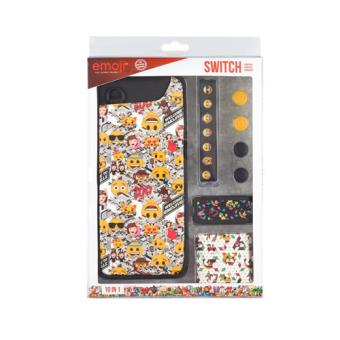 Pack de 10 accesorios Indeca Emoji 2018 Nintendo Switch