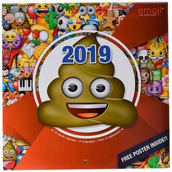 Calendario 2019 Emoji