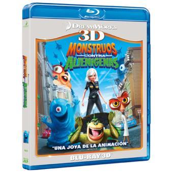 Monstruos contra alienígenas - Blu-Ray + 3D