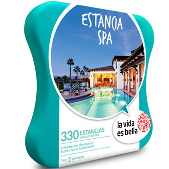 Caja Regalo La vida es bella - Estancia Spa