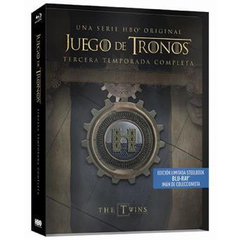 Juego de TronosJuego de tronos - Temporada 3 - Steelbook Blu-Ray