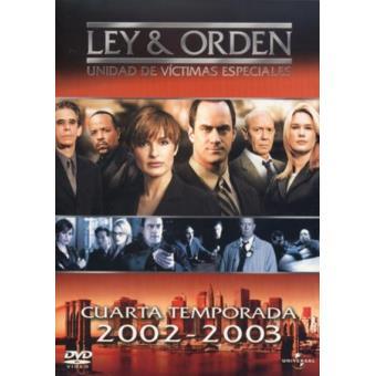 Ley y orden: Unidad de Víctimas Especiales - Temporada 4 - DVD