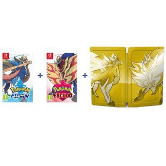 Pack Pokémon Espada y Pokémon Escudo Nintendo Switch