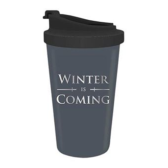 Taza de viaje Game of Thrones Winter is Coming
