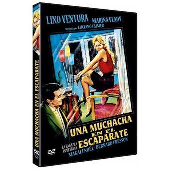 Una muchacha en el escaparate - DVD