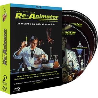 Re-Animator - Blu-Ray + DVD + Banda sonora