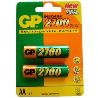 4d1b634d8 GP Pack 2 pilas recargables AA 2700 mAh - Pilas recargables ...