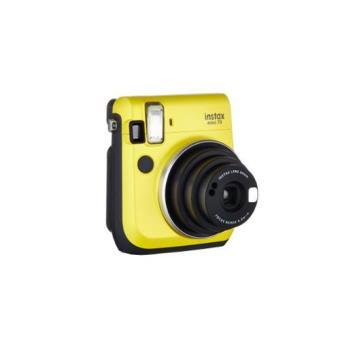 Fujifilm Instax Mini 70. Cámara instantánea amarillo