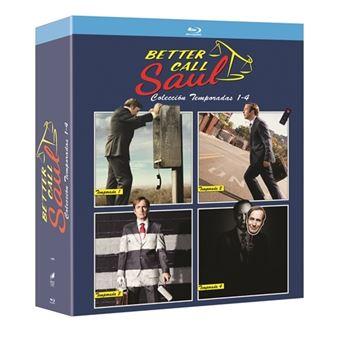 Better Call Saul  Temporada 1-4 - Blu-Ray