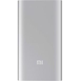 Powerbank Xiaomi Mi Power Bank 5000 mAh Plata
