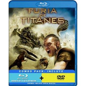 Furia de titanes - Blu-Ray + DVD