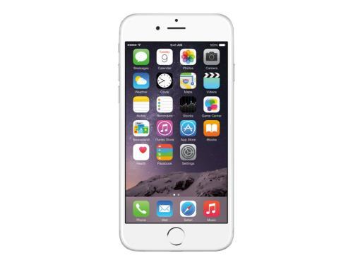 Apple iPhone 6 - plata - 4G HSPA+ - 16 GB - CDMA / GSM - telĂŠfono inteligente