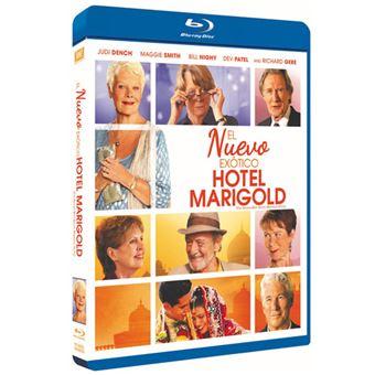 El nuevo exótico Hotel Marigold - Blu-Ray