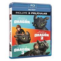 Pack Cómo entrenar a tu dragón 1-3 - Blu-Ray