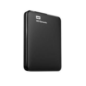"""Disco duro externo portátil WD Elements Portable 2,5"""" 500 GB Negro"""