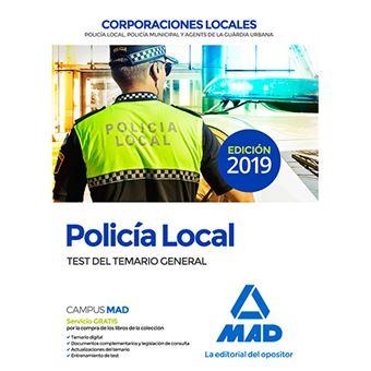 Policía Local - Test del temario general