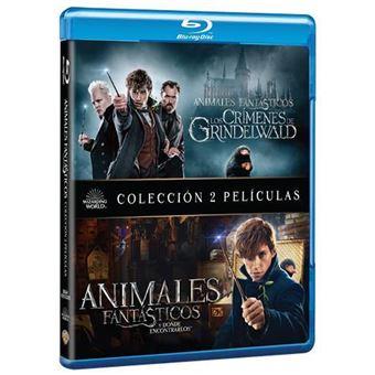 Animales Fantásticos Y Dónde Encontrarlos Animales Fantásticos Y Los Crímenes De Grindelwald Blu Ray David Yates Katherine Waterston Eddie Redmayne Fnac
