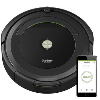 Robot Aspirador iRobot Roomba 696 Negro