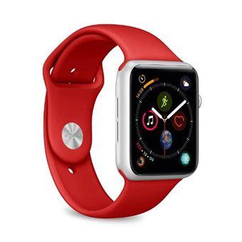Correa deportiva Puro Icon Rojo para Apple Watch 44 mm