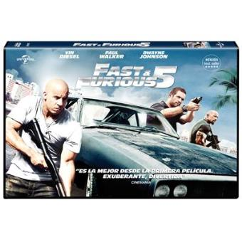 A todo gas: Fast Five - Fast and Furious 5 - DVD Ed Horizontal