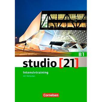 Studio [21]: Gesamtband. Intensivtraining mit Hörtexten. Ejercicios adicionales (Nivel B1)