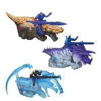 Dino Jouster con Figura Transformers Surtido