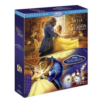 Pack La Bella y la Bestia - 1991 La Bella y la Bestia - 2017 - Blu-Ray