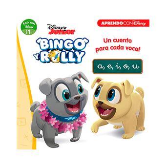 Leo con Disney - Nivel 1 - Bingo y Rolly - Un cuento para cada vocal