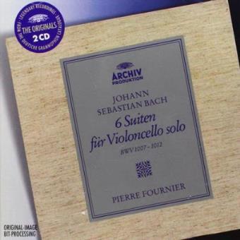6 suites for solo violonc