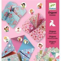 Papiroflexia origami saleros niñas
