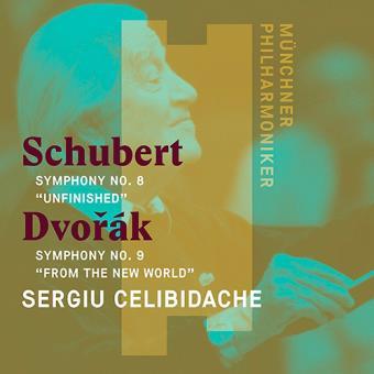 Schubert: Symphony No. 8, Unfinished / Dvorák: Symphony No. 9, From the New World