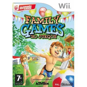 Family Games Diversion En Familia Wii Para Los Mejores