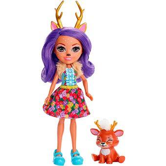 Enchantimals Danessa Deer y Sprint Mattel