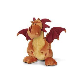Peluche dragón naranja sentado 30 cm Nici