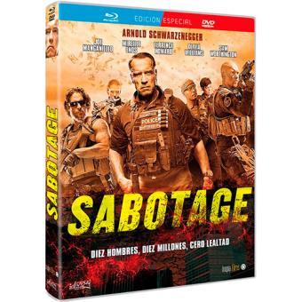 Sabotage - Blu-Ray + DVD