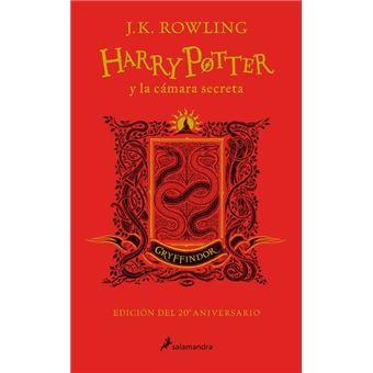 Harry Potter y la cámara secreta - Ed. Gryffindor