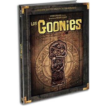 Los Goonies - Blu-Ray -  Ed coleccionista 25º aniversario + Libro