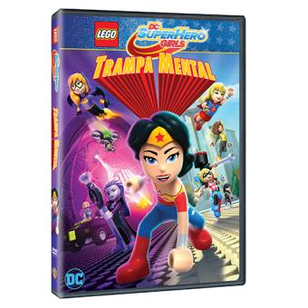 Lego DC Superhero Girls: Trampa mental - DVD