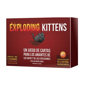 Exploding Kittens - Juego cartas