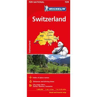 Mapa National Suiza