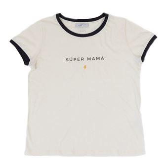 UO Camiseta Súper Mamá - Talla L- XL