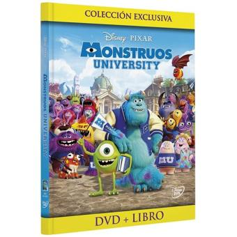 Monstruos University - Exclusiva Fnac - DVD + Libreto