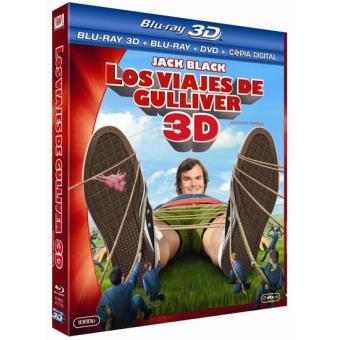 Los viajes de Gulliver - Blu-Ray 3D + 2D + DVD + Copia digital