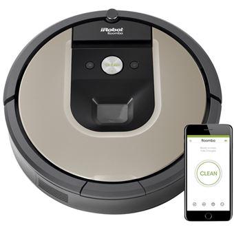 Robot Aspirador iRobot Roomba 966 Negro/Beige