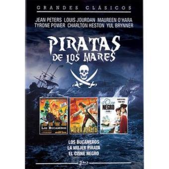 Pack Piratas de los mares - Blu Ray