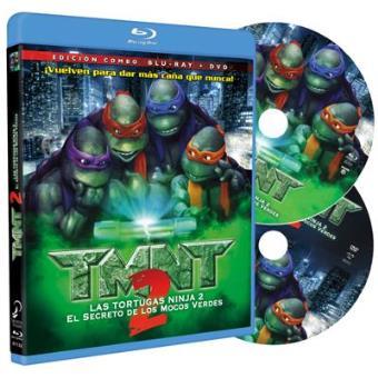 Tortugas Ninja: TMNT 2: El secreto de los mocos verdes -  Ed remasterizada - Blu-Ray + DVD